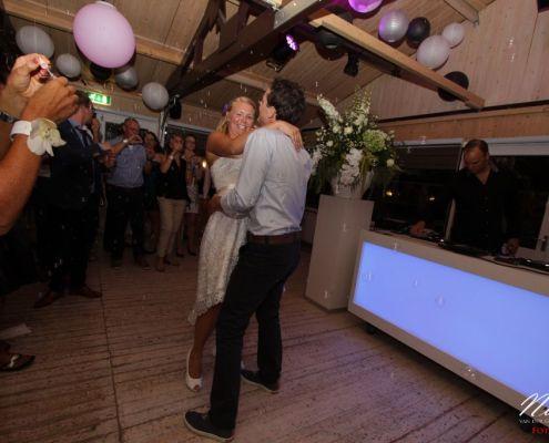 DJ Jim op de bruiloft van Arjan