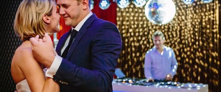 DJ op bruiloft