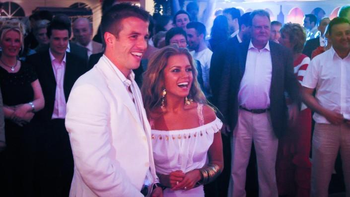 DJ op bruiloft Raphael en Silvie
