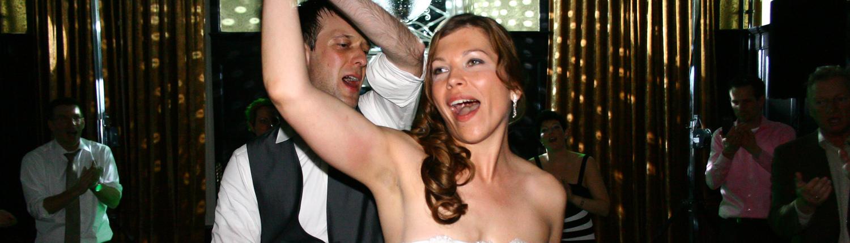 Openingsdans bruiloft met DJ