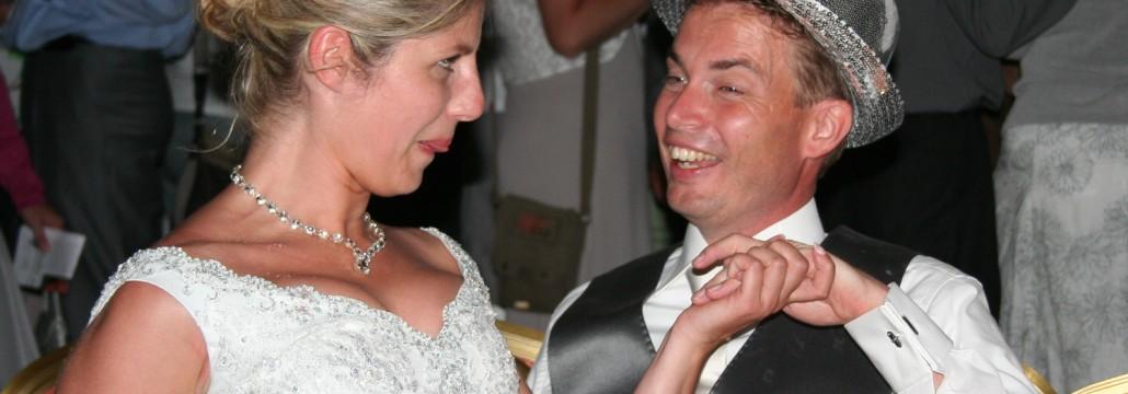 Bruiloft met DJ Landgoed Waterland